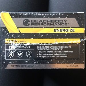 NWT- Beachbody - energize - 21 packets
